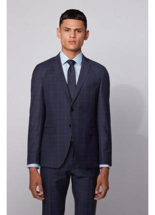 Костюм hugo boss huge6/genius5 we1 slim fit wool textured  suit