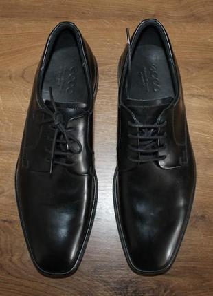 Шкіряні туфлі ecco jared, 43 розмір