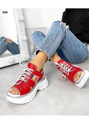 Шикарные крутые кроссовки натуральная кожа новинка