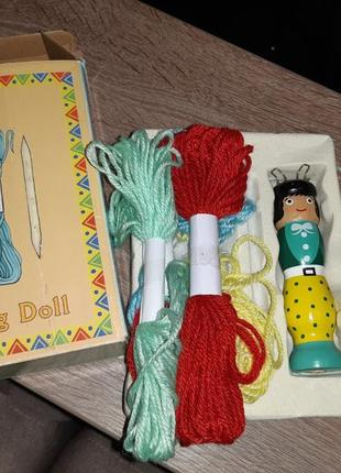 Набор кукла для вязания крючком