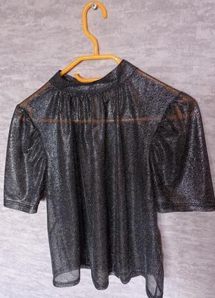 Новая блуза женская h&m прозрачная