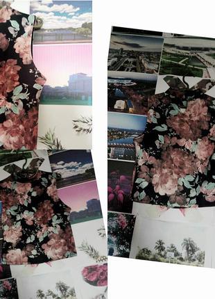 Крутой топ с цветами