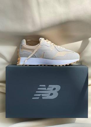 Женские летние демисезонные спортивные кроссовки new balance 327