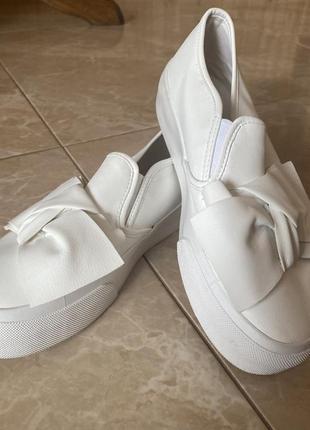 Белые кеды asos