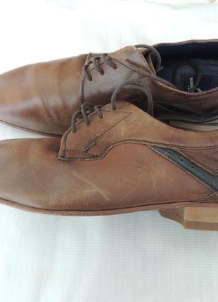 Мужские классические туфли daniel hechter кожа