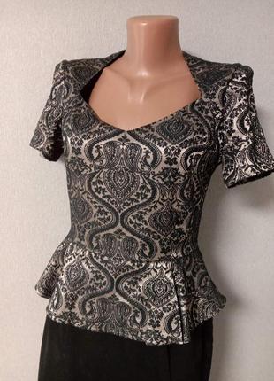 Платье m & s из черного бархата