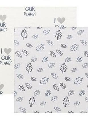 Пеленки lupily  муслиновые хлопок 100% премиум