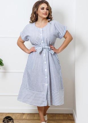 Платье - рубашка из льна 🥰