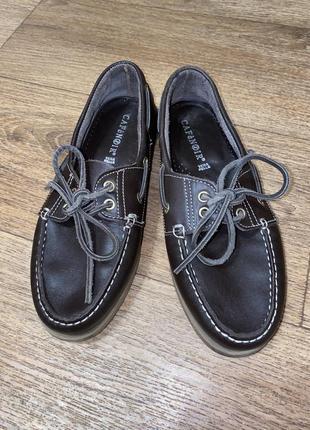 Мокасины туфли макасины топ-сайдеры