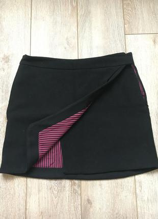 Zara мини юбка