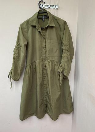 Платье рубашка сарафан