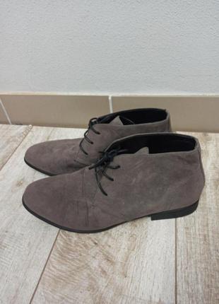 Мужские ботинки туфли asos размер 45-46 на широкую ногу