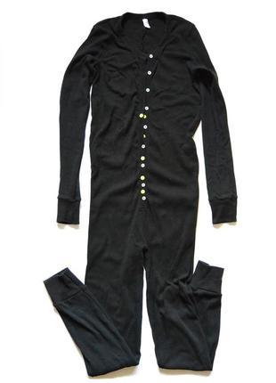 Хлопковый домашний комбинезон пижама