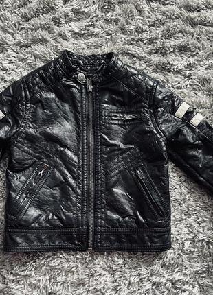 Очень стильная кожаная курточка 🔥