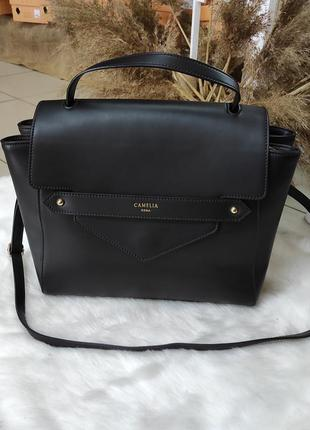 Женская кожаная сумка vera pelle