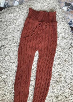 Лосіни штани вязані