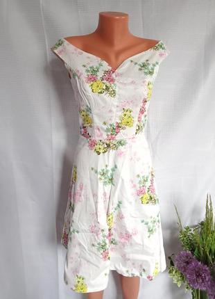 Плаття. сукня квіткова. рр м.