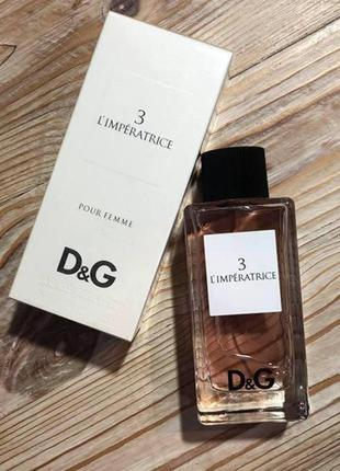 Dolce&gabbana anthology l`imperatrice 3, 100 мл, туалетная вода