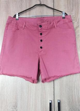 Красивые джинсовые шорты размер 54-561 фото