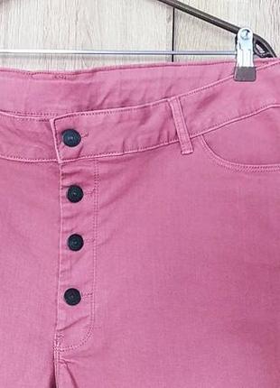 Красивые джинсовые шорты размер 54-562 фото