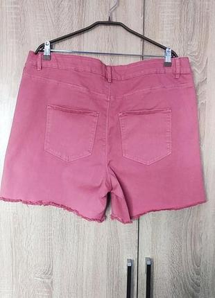 Красивые джинсовые шорты размер 54-563 фото