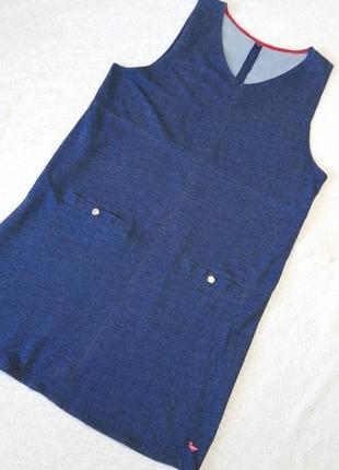 Летнее платье сарафан свободный крой большой размер хлопок