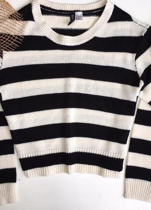 Полосатый свитер от h&m