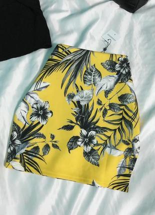 Спідниця в квіти / юбка в цветочный принт