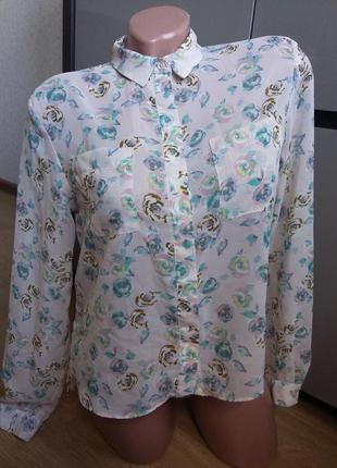 Асимметричная свободная блуза topshop