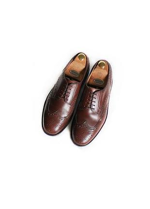 Bally туфли броги оригинал швейцария кожа