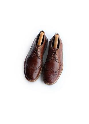 Rieker туфли ортопедические комфорт кожаные броги на лето