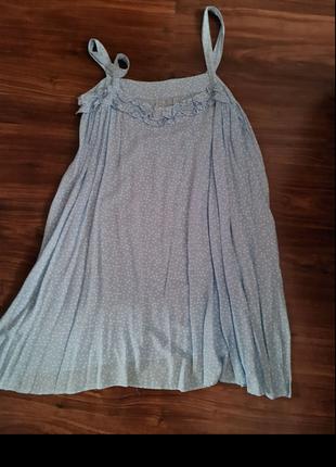 Платье котон 100% натуральный новый
