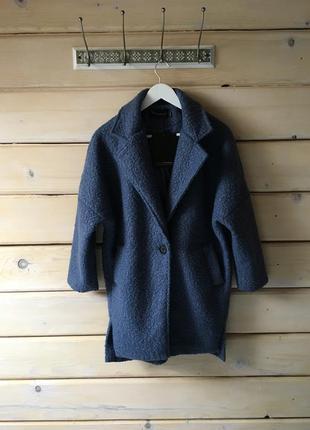 Шикарное пальто boyfriend/ oversized!