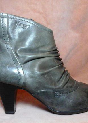 Кожаные сапоги ботильоны ботинки полусапожки