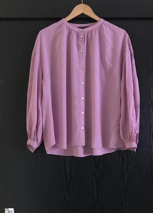 Об'ємна віскозна блуза від m&s