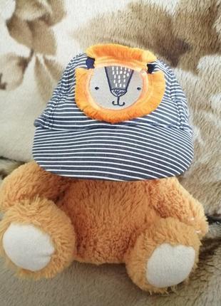 Кепка шапка летняя для мальчика лёгкая