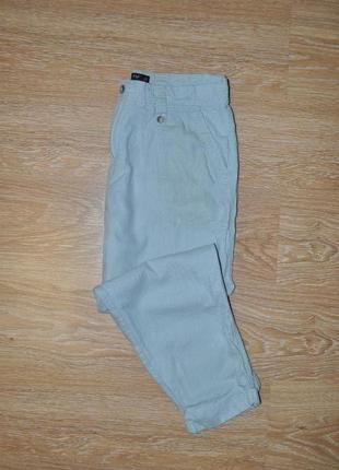 Стильные льняные брюки штаны f&f