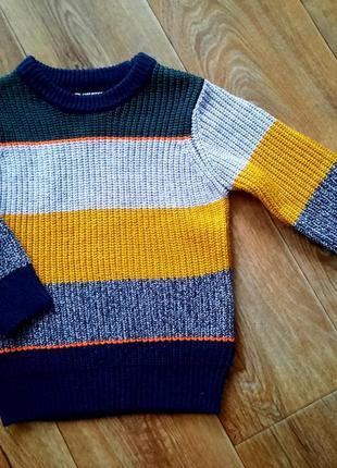 Новый джемпер / свитер на 2-3 года