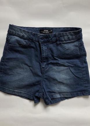 Джинсовые шорты новые sinsay