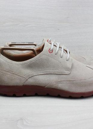 Замшевые туфли rockport, размер 44 (adiprene by adidas)