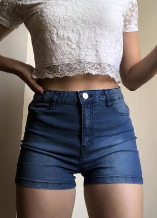 Шорты джинсовые новые sinsay