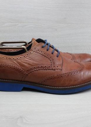 Кожаные туфли / броги coogan london, размер 43 - 44
