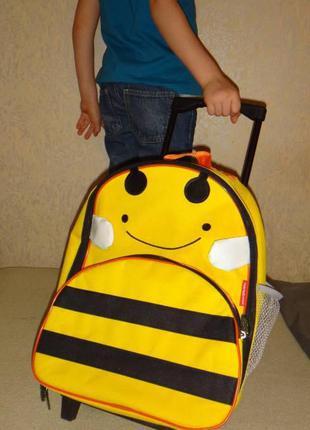 Рюкзак на колесах, портфель, ранец, чемодан