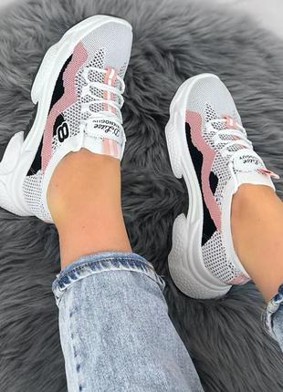 Шикарные женские текстильные кроссовки 🍓кросівки