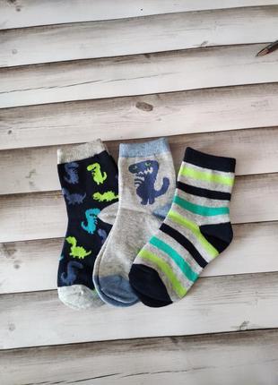 Носки носочки з динозаврами