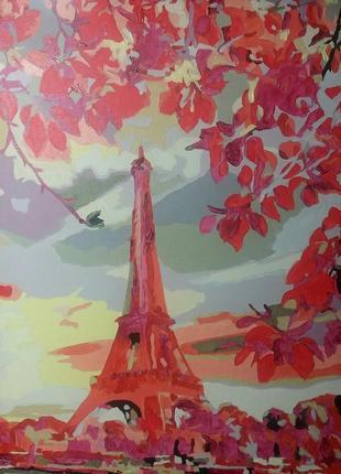 """Картина  """"осенний париж"""""""
