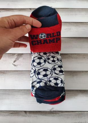 Шкарпетки носки 5 пар футбол 40/42 розмір