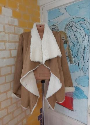 Дубленка зима куртка