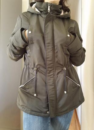Стильная деми парка куртка the outerwear
