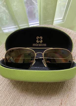 Очки с футляром солнцезащитные очки miraton